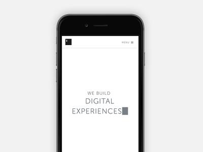 Typework website redesign website typework flat simple black and white landing portfolio team