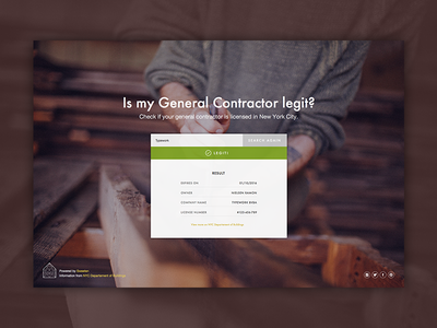 Sweeten general contractor search tools builders renovate search landing page sweeten