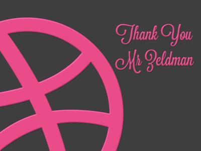 Thank you Jeffrey Zeldman