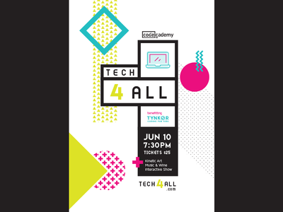 Poster concept event system tech for all