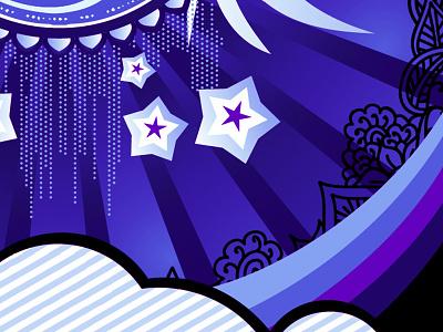 Purples vector