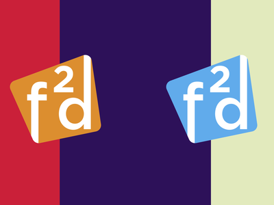 Fresh2design new shorthand branding logo fresh2design f2d
