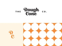The Dough Cone Co. Logo