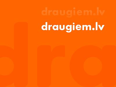 draugiem.lv logo fine-tuning draugiem kerning