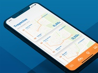 Bicimad redesign - Trayectos (iOS 11 version) ui ux ios11 redesign bicimad