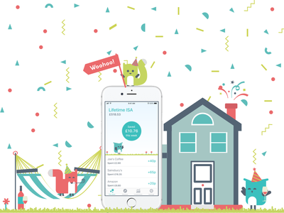 Moneybox email campaign partyanimals confetti iphone campaign isa lifetime mobile app email ui moneyboxapp moneybox