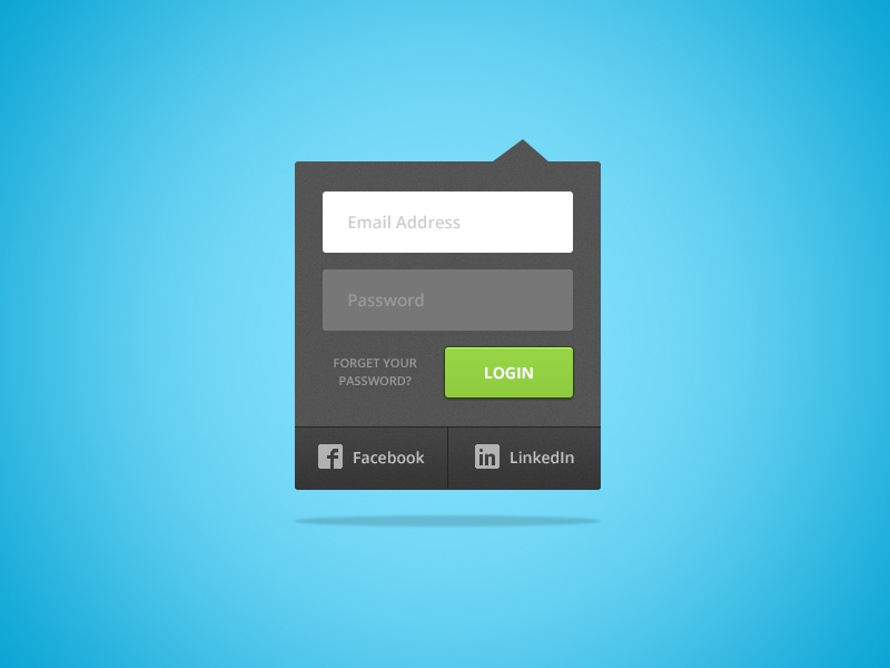 FREEBEE FRIDAY!! login ui user interface drop-down button fields free psd download signin