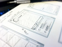 Pencil + Paper = Mobile Wireframes