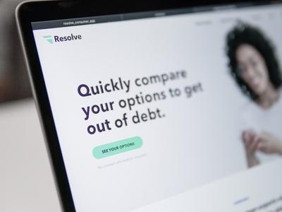Resolve Homepage