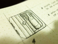 Wine App Icon Sketch