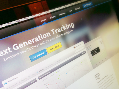 Old Web web tracking tracker analytics website homepage photo blur application web app landing page