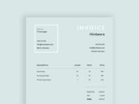 Daily UI #046 - Invoice