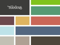 Color Palette | THANATOS Digital Agency