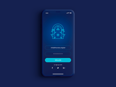 The Doors of Durin | Daily UI 001