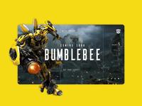 Bumblebee Landing Page   Daily UI 003
