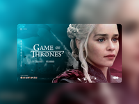 Game of Thrones UI Concept