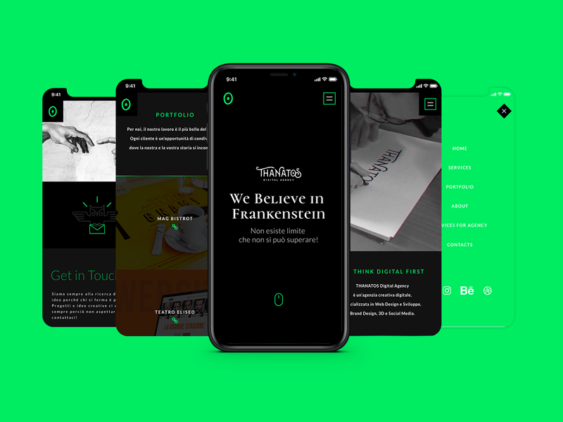 Smartphone Resolution | THANATOS Digital 2.0 responsive website responsive web design smartphone mobile mobile design responsive responsive layout responsive design website web design user interface design user interface ui mobile ui uiux design uiuxdesign uiux thanatos digital agency minimal design minimal