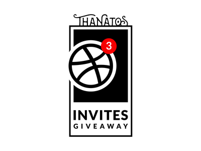 3 Dribbble Invites Giveaway!!