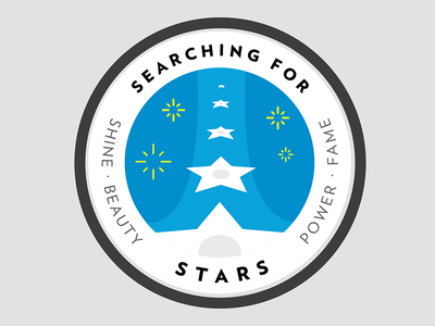 Searching for Stars badge patch space