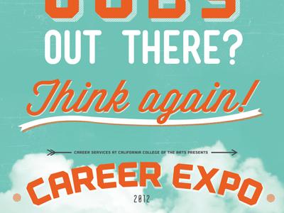 career expo poster by christine røde dribbble dribbble