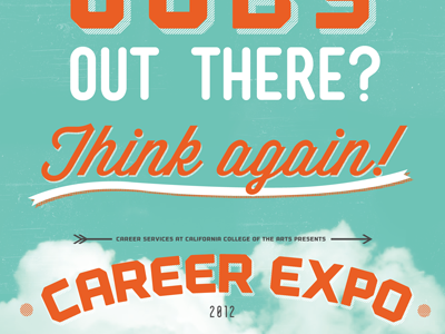 Career Expo Poster poster career expo cca sputnik