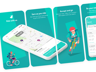 Deliveroo Rider App Screenshots internationalisation deliveroo screenshots play store app store
