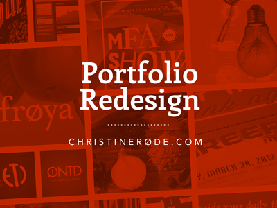 New Portfolio website portfolio graphic designer responsive design