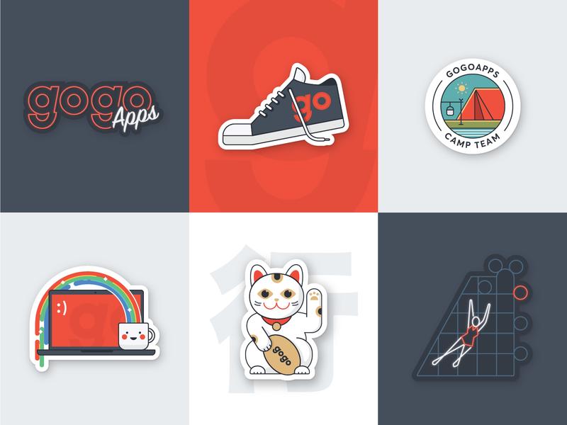 GogoApps stickers