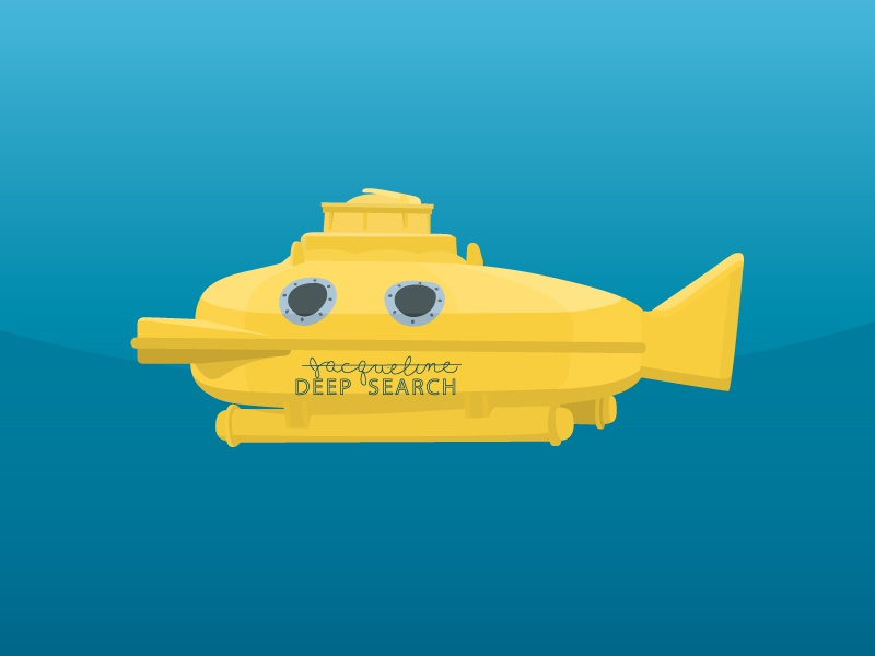 Just a simple illustration illustration vector submarine yellow lifeaquatic