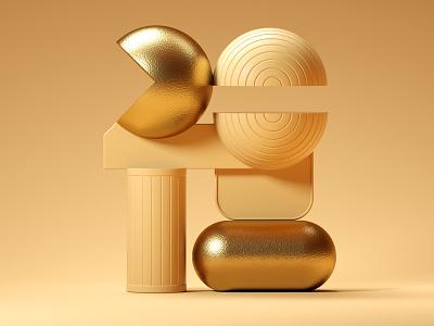 2018 animation typography type 3d icon illustration