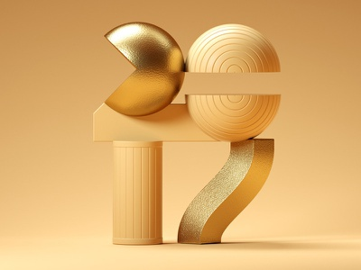 2017 animation typography type 3d icon illustration