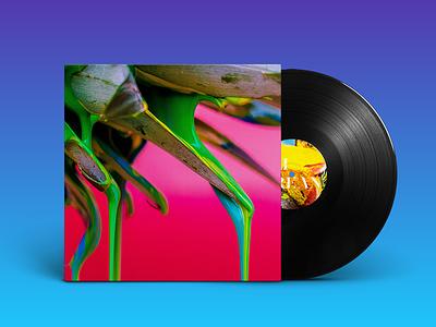 Conceptual Vinyl Cover identity case eli grean colors music vinyl