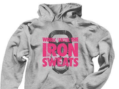 "Doing Muscles: ""Sweaty Iron"" T-Shirts & Hoodies skull skull logo illustration tshirts fitness logo tshirt branding and identity logo brand branding fitness forsale tshirt design typography design"