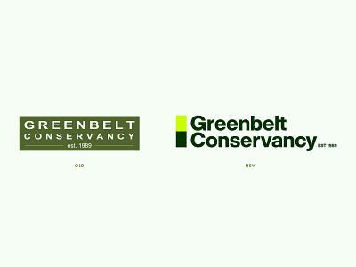 Greenbelt Conservancy Brand Redesign Exercise graphic design identity design creative direction art direction design branding and identity design system typography logo brand brand design branding