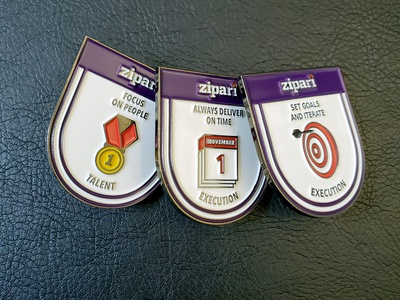 Zipari Lapel Pins brand strategy vector branding illustration clientwork art direction pin design pins lapelpin lapel pin icon