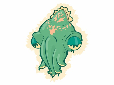 Cuttlefish cuttlefish character concept vector illustration character