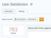 Satisfaction report