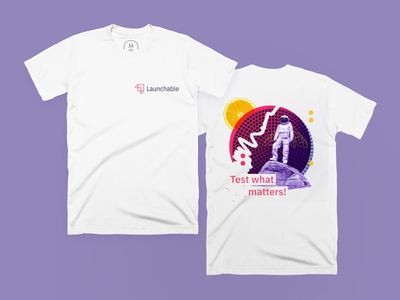 Launchable T-shirts! t-shirts branding launchable