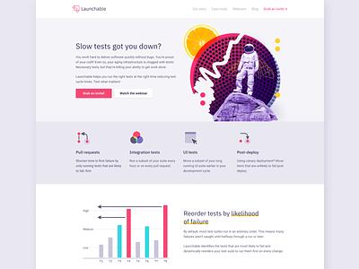 Launchable Homepage website launchable