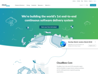 New CloudBees Homepage