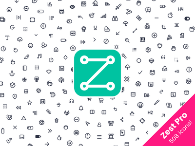 Zest Pro Icons icons icons pack icons set design