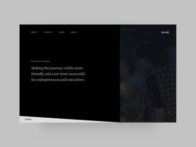 Skube Website Concept