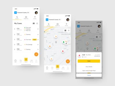 Crisis CleanUp Mobile App