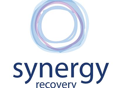 Synergy Recovery Center Branding organic feminine soft branding logo