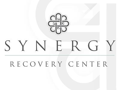 Synergy Recovery Center Branding geometric conservative clean branding logo