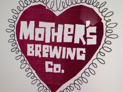 Mother's Logo Exploration 04 logo craft beer brewery typography