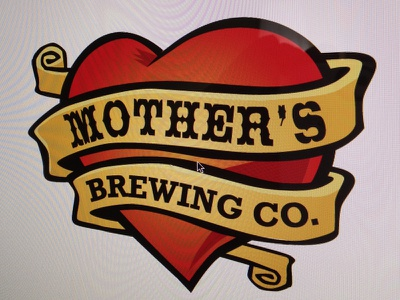 Mother's Logo Exploration 05 logo craft beer brewery typography