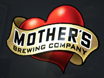 Mother's Brewing Company Logo logo craft beer brewery typography