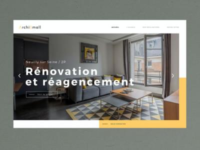 Archismall website