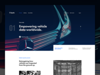 Car landing page